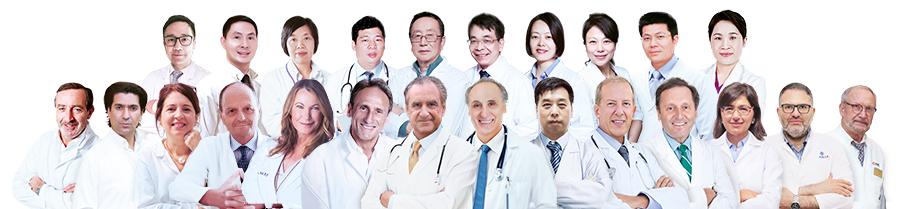 瑞士领誉医疗医生专家团队