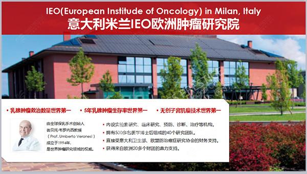 意大利米兰IEO欧洲肿瘤研究院