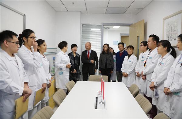 罗马医科大学医院心血管专家法比奥•贝鲁托教授应邀赴北京安贞医院参观访问