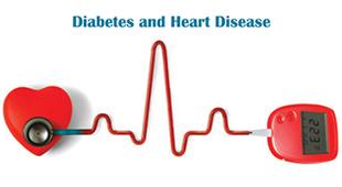 众所周知,糖尿病和心脏病是一对