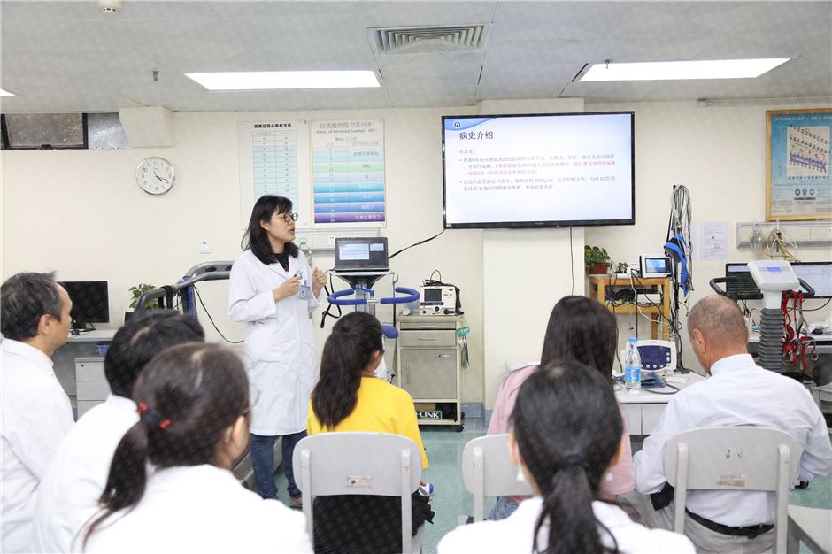 广东省人民医院专家与法比奥博士进行交流